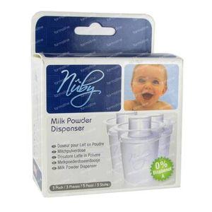 Nuby Milk Powderbox 3 St