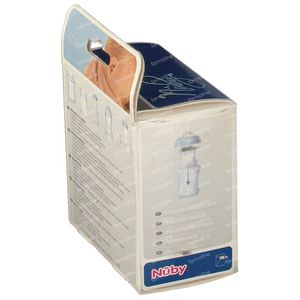 Nuby Milk Powderbox 3 unidades