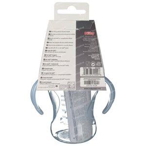 Nuby Cup Propyleen Anti-Leak + 2 Handles Blue 240ml 1 St