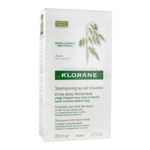 Klorane Shampooing Extra Doux Aux Lait d'Avoine 200 ml