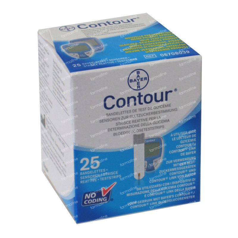Perfume Tester Strips Uk: Bayer Contour Teststrips 25 Pieces Order Online