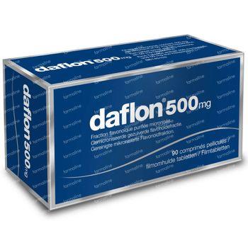 Daflon 500Mg 90 comprimés