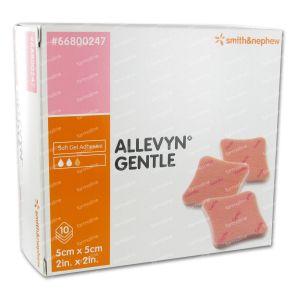 Allevyn Gentle 5cm x 5cm 10 unidades