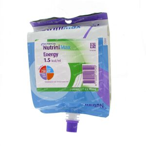 Nutrini Max Energy 7-12 Jaar Pack 500 ml