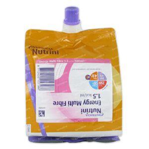 Nutrini Energy Multi Fibre 1-6 Jaar Pack 500 ml