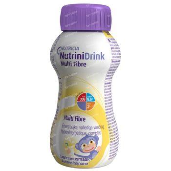 Nutrinidrink Multi Fibre Banaan +12 Maanden 200 ml