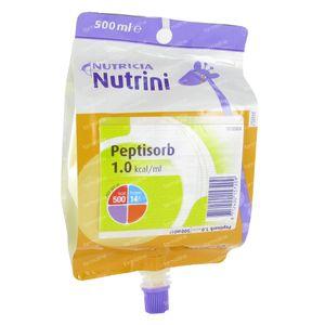 Nutrini Peptisorb 1-6 Jaar Pack 500 ml