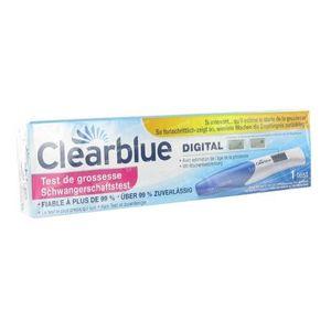 Clearblue Zwangerschapstest Met Conceptie-Indicator 1 stuk