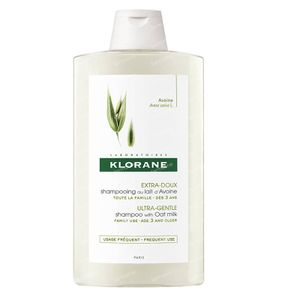 Klorane Ultramilde Shampoo Met Havermelk 400 ml