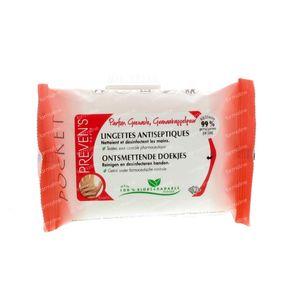 Preven's Tissue Antiseptique Grenade 10 sachets