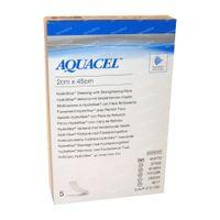 Aquacel Verb Hydrofiber Ster + Renfort 2cm x 45cm 5 st