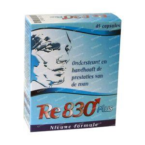 RE 830 Plus 45 capsules