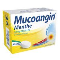 Mucoangin Munt 20mg - Voor Keelpijn 30  zuigtabletten