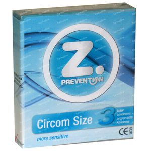 Z. Prevention Circomsize Condoms 3 pieces