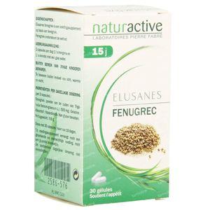 Elusanes Fenugriek 30 capsules