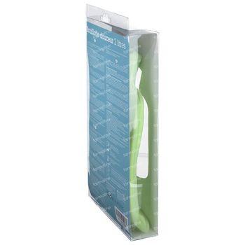 Marque V Thermoplastisch Zachte Warmwaterkruik Groen 2L 1 stuk