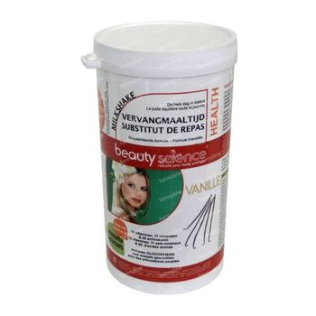 Beauty Science Milkshake Vanilla 700 g