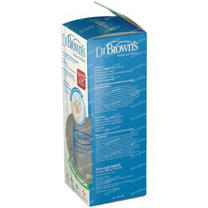 Dr Brown Suction Bottle Polypropyleen 240ml 1 st