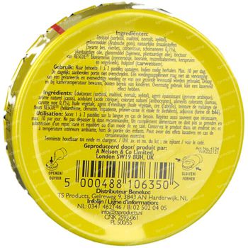 Rescue pastilles zwarte bes 50 g
