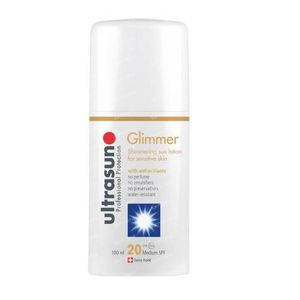 Ultrasun Medium SPF20 Sensitive Glimmer Without Perfume 100 ml