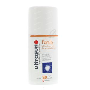 Ultrasun High SPF30 Super Sensitive Family 100 ml