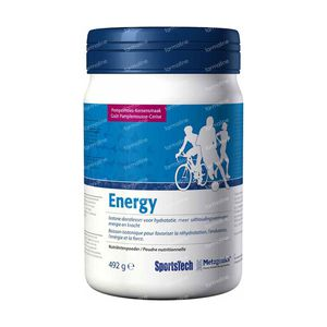 Sportstech Energy Grapefruit-Cherry 492 g Polvere
