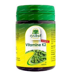 Fytobell Vitamine K2 Forte 30 St Capsules