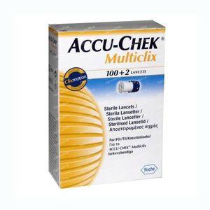 Accu-Chek Multiclix Lancettes 102 pièces