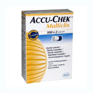 Accu-Chek Multiclix Lancet 102 pieces