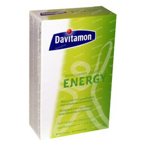 Davitamon Energy Adultes 60 comprimés