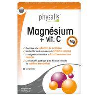 Physalis Magnésium + Vitamin C 30  comprimés