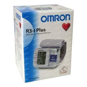 Omron R3-I-Plus sphygmomanometer Wrist Automatical 1 item