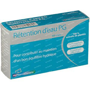 Pharmagenerix Retention Eau Pg 60 capsules