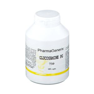 Pharmagenerix Glucosamine Pg 750 mg 180 capsules