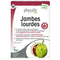 Physalis Jambes Lourdes 30  comprimés