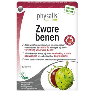 Physalis Zware Benen 30 tabletten
