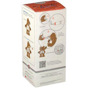 Aerochamber Plus Anti-Statisch + Flow-Vu-Masker Baby 1 stuk