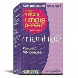Nutrisante Manhae Promo 1 Maand Gratis! 120 St capsules