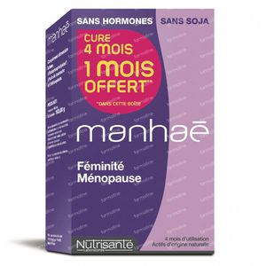 Nutrisante Manhae Promo 1 Mois Gratuit! 120 St capsules