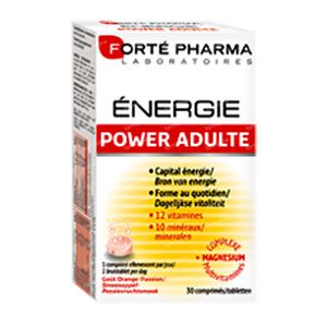 Forté Pharma Energy Power Adult Duopack 60 comprimidos