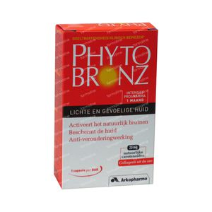 Phytobronz Light And Sensitive Skin 30 capsules