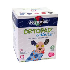 Ortopad Cotton Regular Eye Plaster 50 pezzi