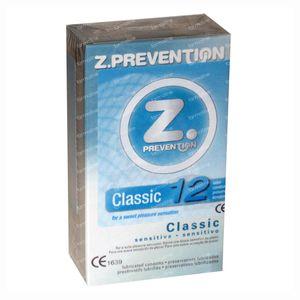 Z. Prevention Classic Condoms 12 pieces