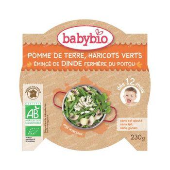 Babybio Mon P'tit Plat Kalkoen-Groenten 230 g