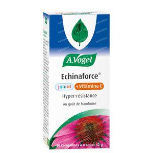 A.Vogel Echinaforce Junior + Vitamine C Framboise Aroma 40 comprimés