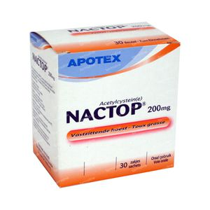 Nactop 200mg 30 St