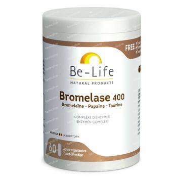 Be-Life Bromelase 400 60 capsules
