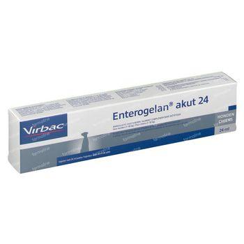 Virbac Enterogelan Pâte Seringue Doseur Chien 24 ml