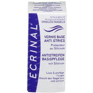 Ecrinal Nagellak Basis Anti-Strepen 10 ml