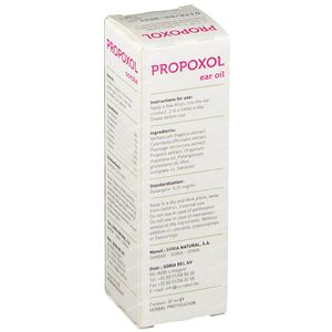 Soria Natural Propoxol Propolis Gutt Auriculaires 30 ml